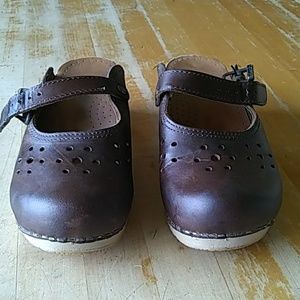 Dansko clog Mary Janes leather size 37